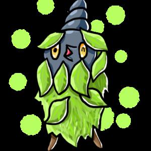 download Shiny Plant-Cloak Burmy by HarmonyRocketEeveon on DeviantArt