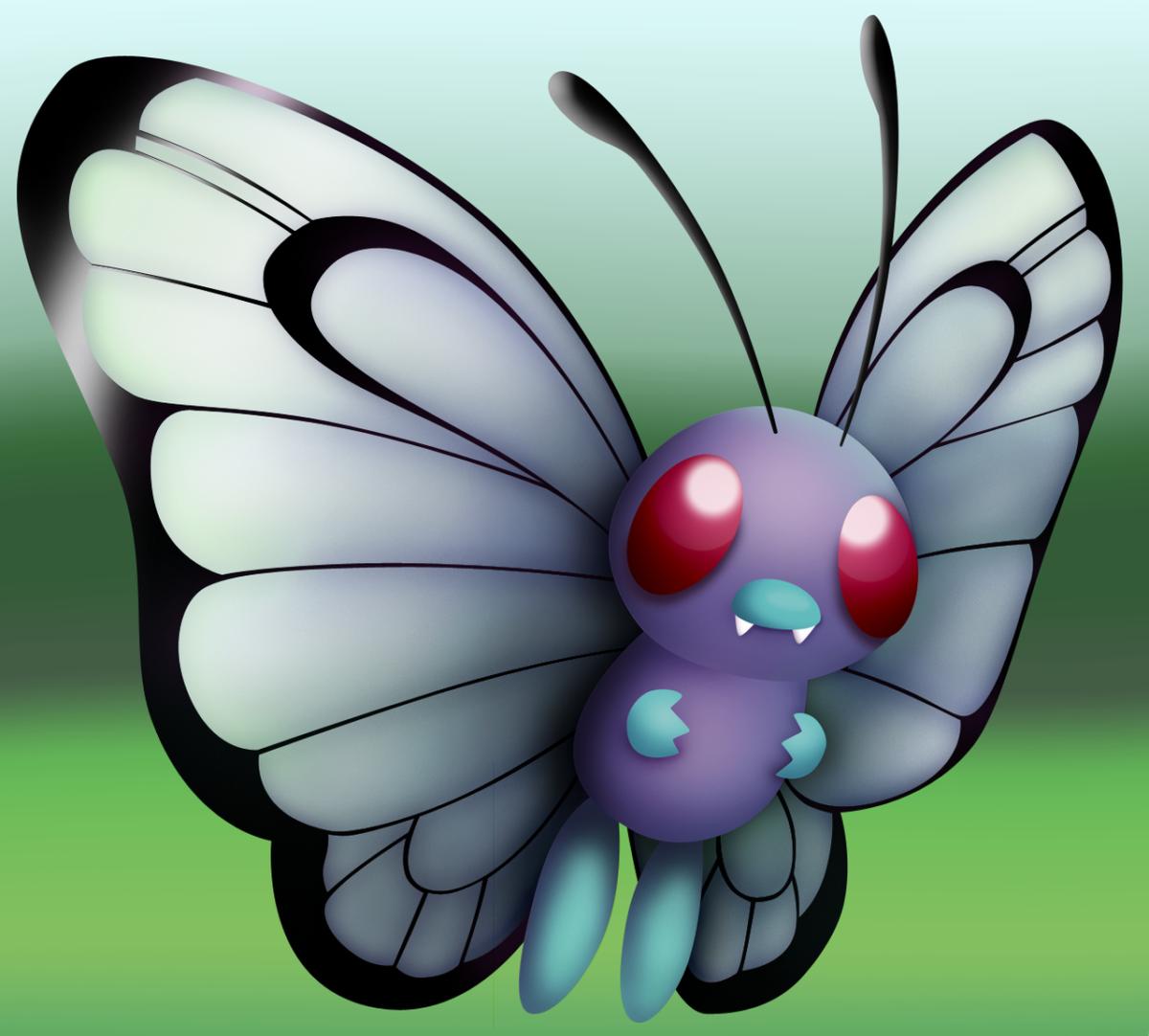 Pokemon Revamps: Butterfree by Susyspider on DeviantArt