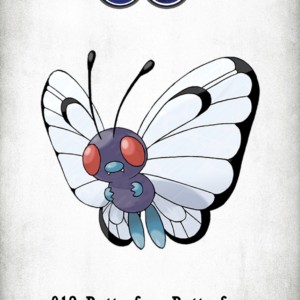 download 012 Character Butterfree Butterfree | Wallpaper