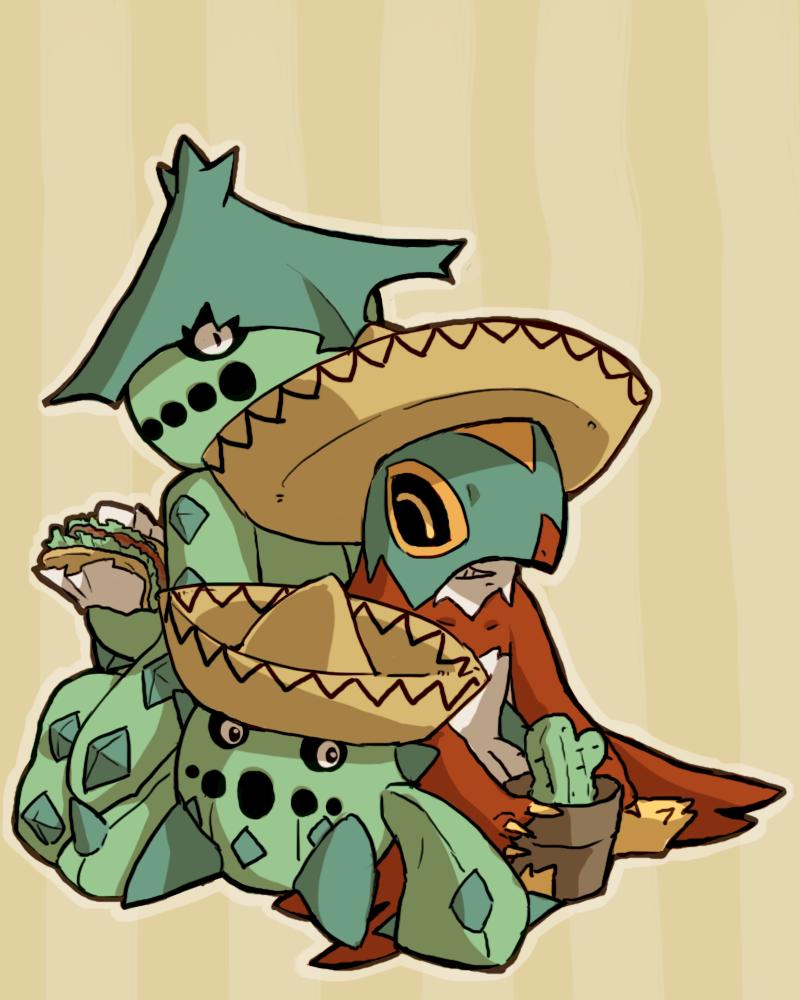 Cacnea, Cacturne and Hawlucha Vila mexico #2   My Mexican Pokémon …