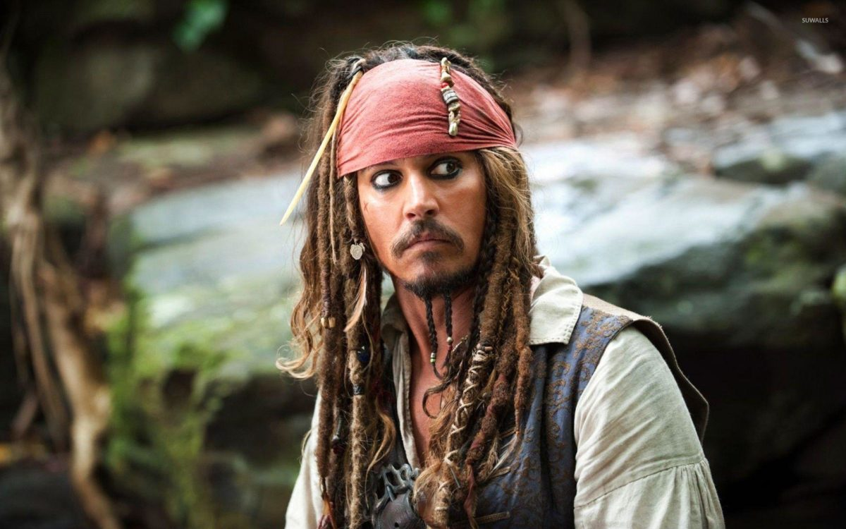Captain Jack Sparrow – The Pirates of the Caribbean wallpaper …