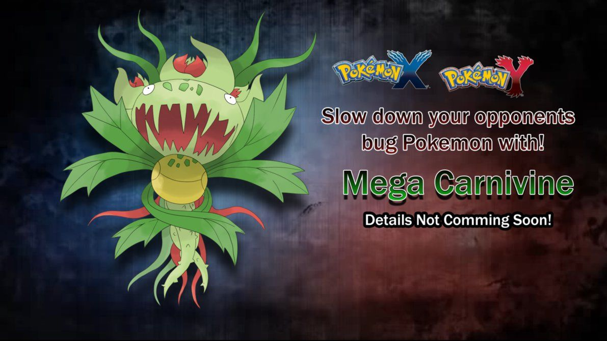 Mega Carnivine by Austinferno on DeviantArt