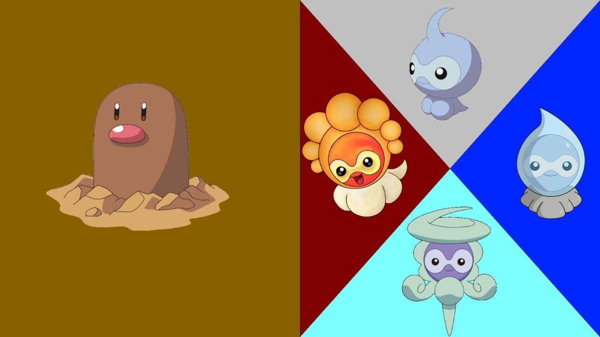 Pokémon sprite fusion #15: Castform (sand form (requested by Lunar …