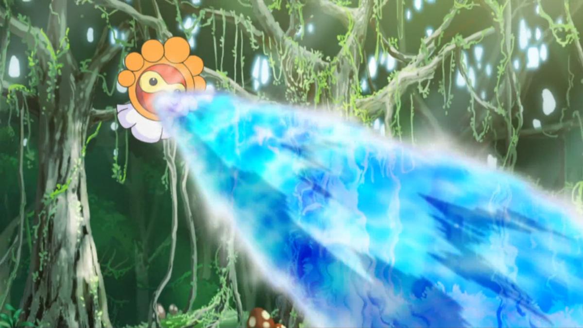 Image – Castform SM035 Water Gun.png | Pokémon Wiki | FANDOM powered …