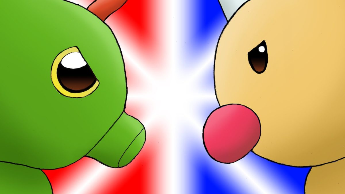 Caterpie vs Weedle Animation – YouTube