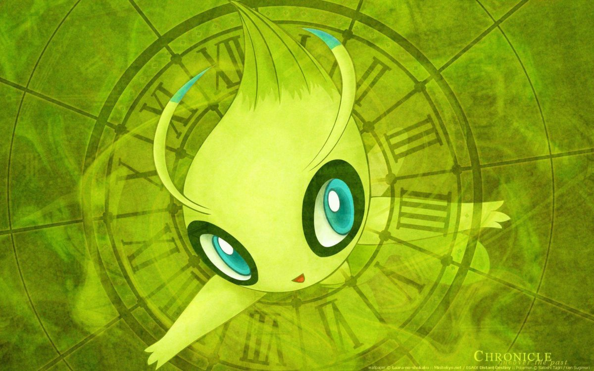 13 Celebi (Pokémon) HD Wallpapers | Background Images – Wallpaper Abyss