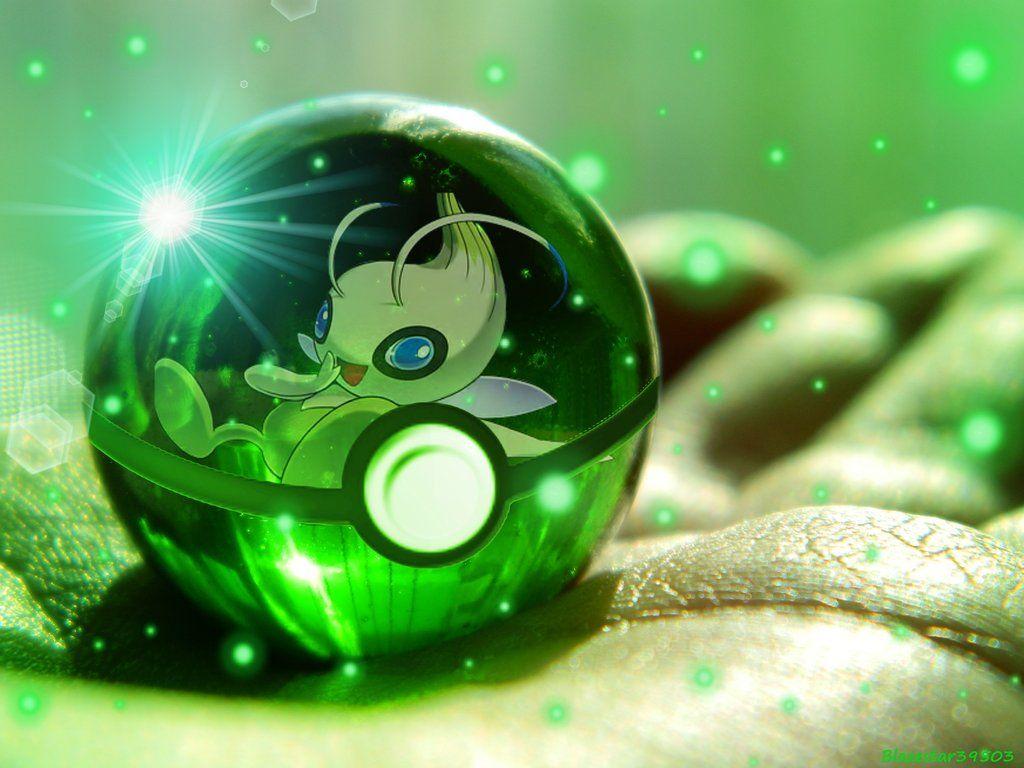 Celebi Pokeball by Blazestar39503 on DeviantArt