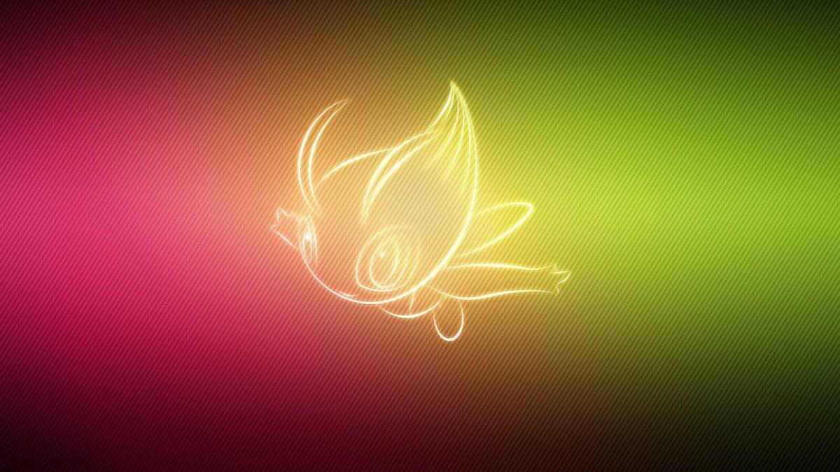 Download wallpaper 2048×1152 pokemon, form, celebi ultrawide monitor …