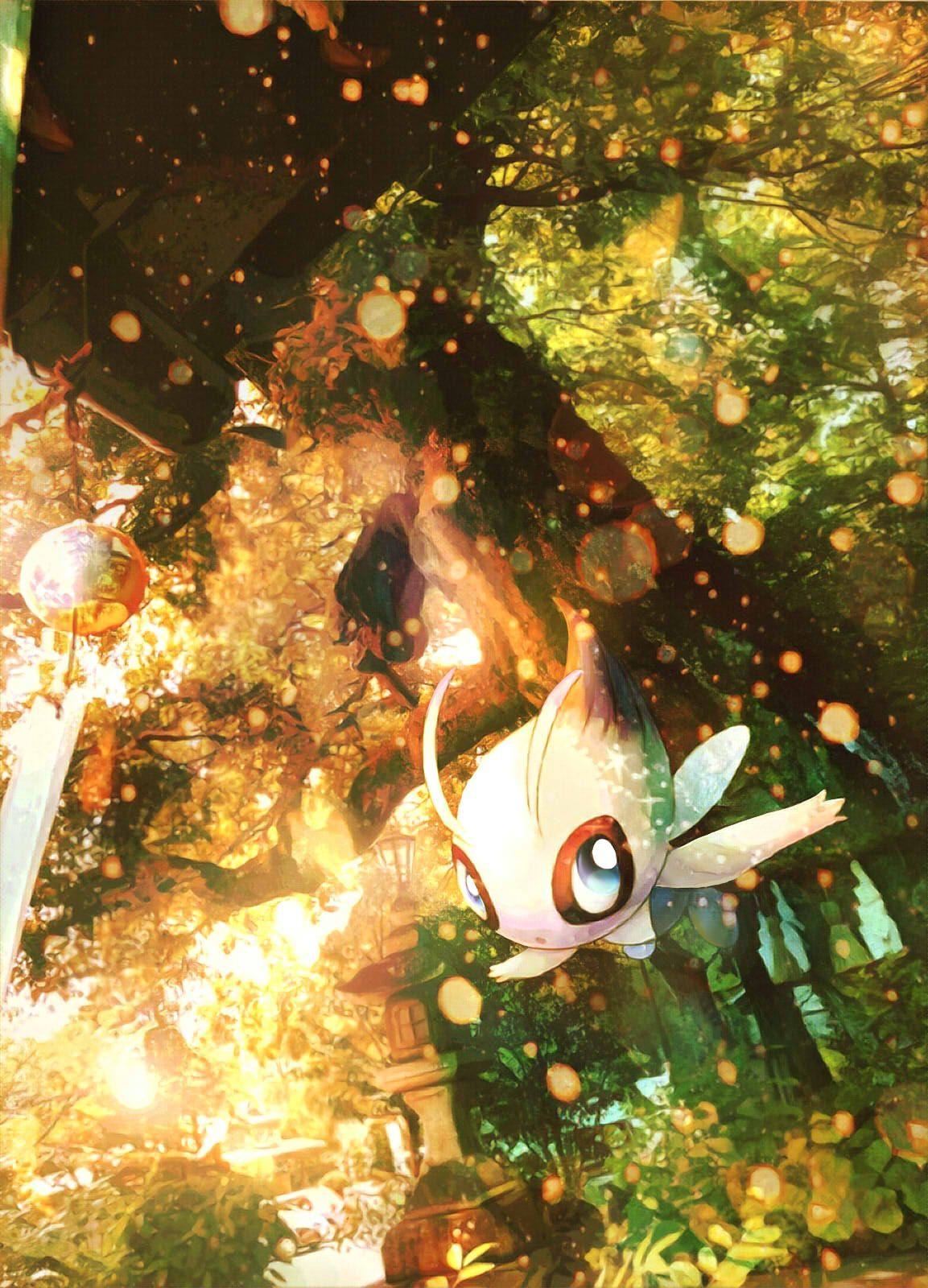 Celebi – Pokémon – Mobile Wallpaper #2120196 – Zerochan Anime Image …