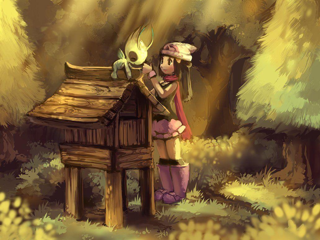 Dawn and Celebi by purplekecleon on DeviantArt | Pokèmon …