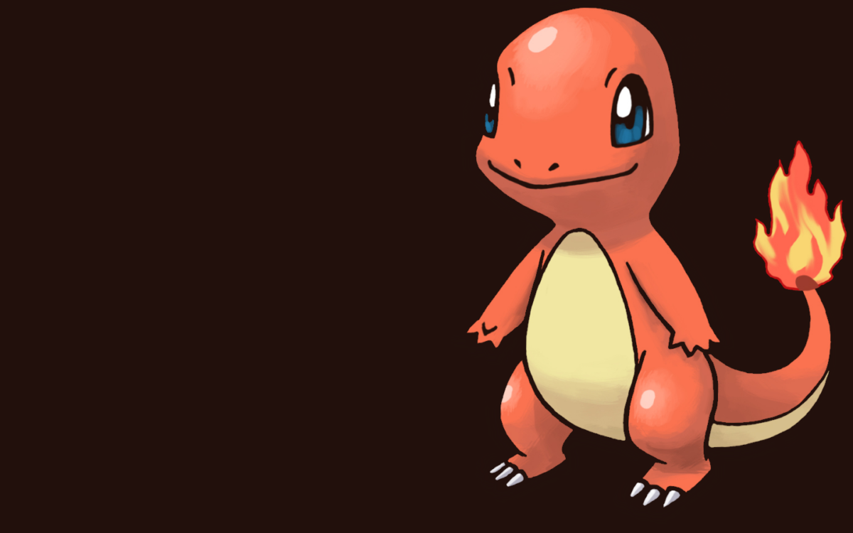 Desktop Wallpaper: Cute Charmander Pokemon HD Wallpaper