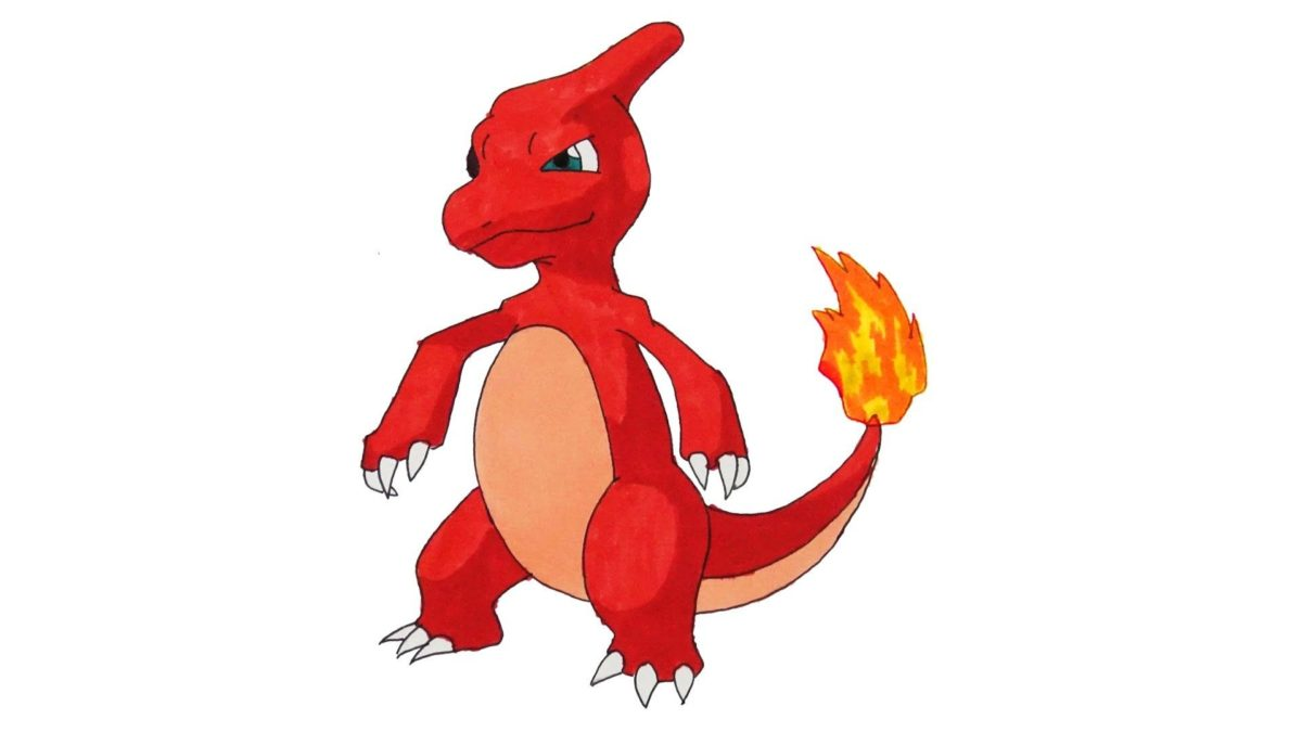 How to Draw Pokemon #005 Charmeleon, My Crafts and DIY Projects