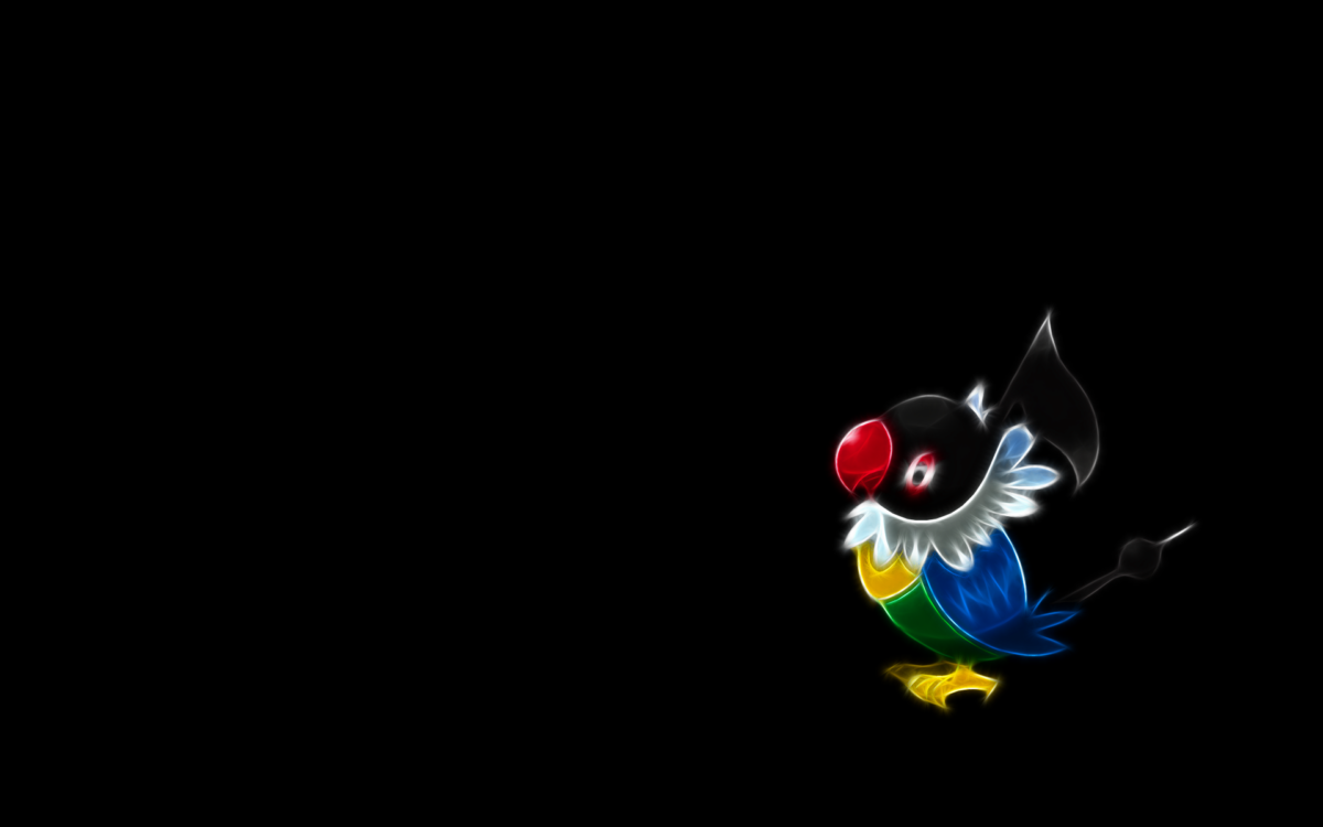 The Images of Pokemon Black Background Chatot 1920×1200 HD …