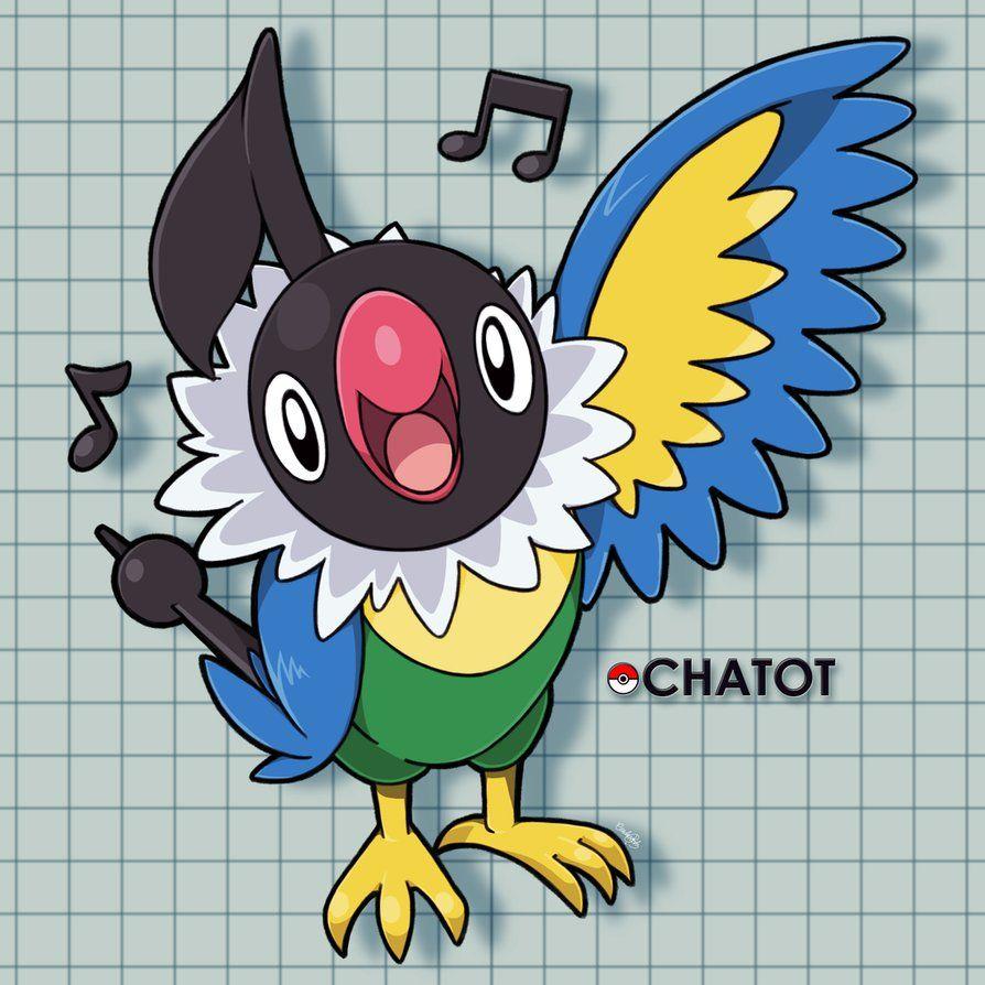 Chatot by hitsuji02 on DeviantArt