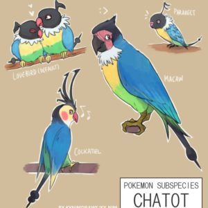 download Pkmn Subspecies: Chatot by ky-nim on DeviantArt
