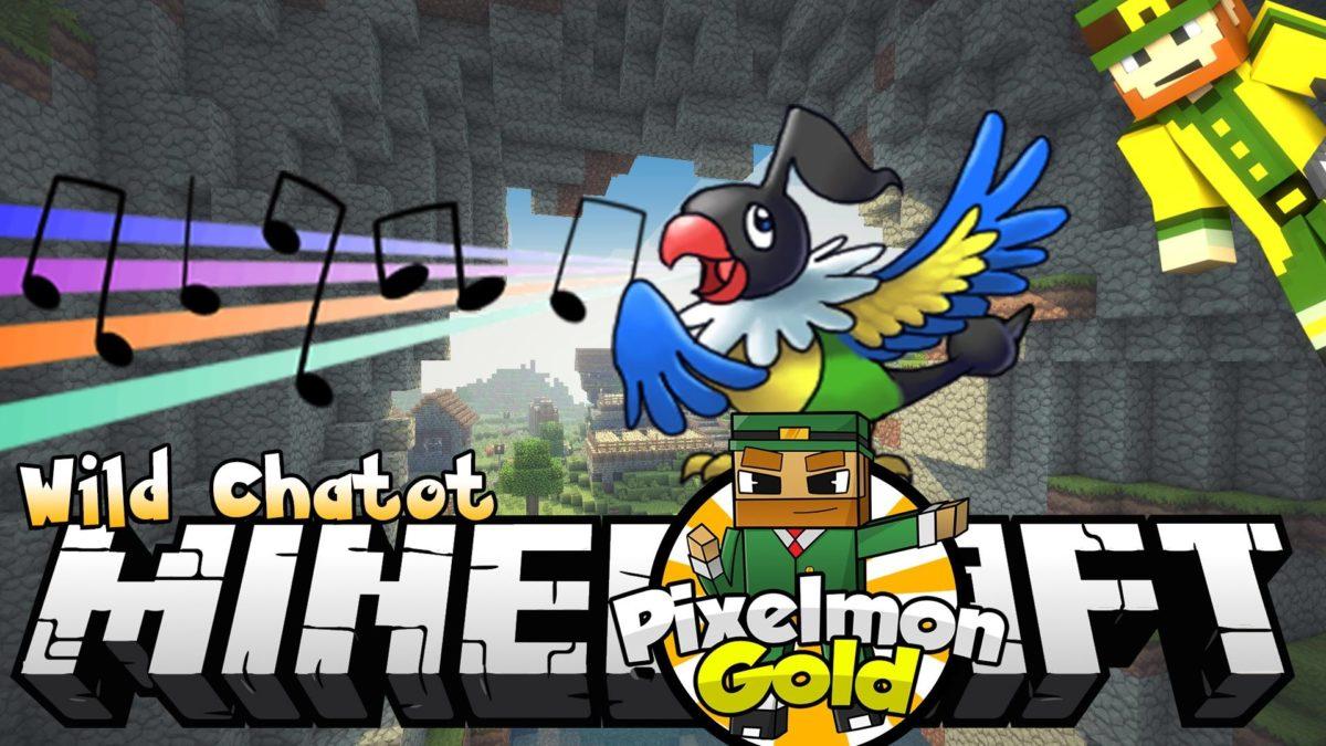 Minecraft Pixelmon Gold #67 'Wild Chatot' – YouTube