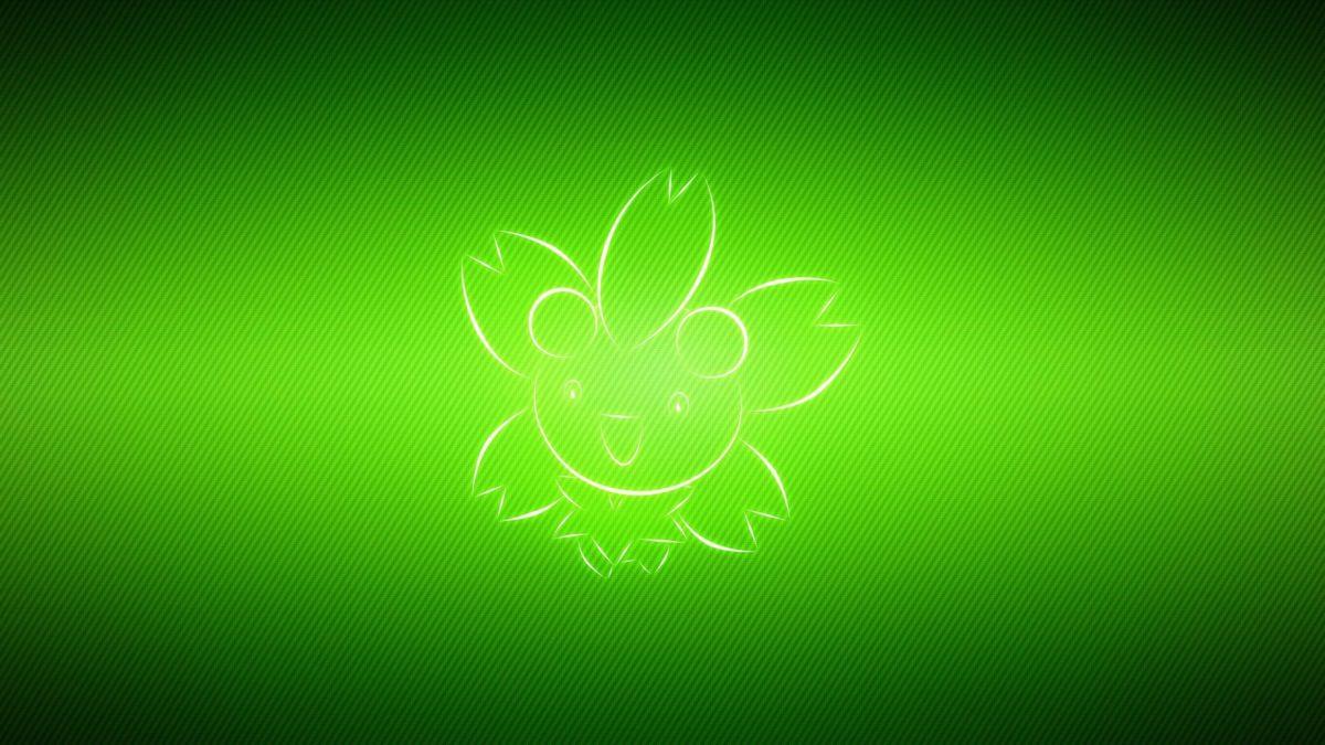 wallpaper pokemon, cherrim, green HD : Widescreen : High Definition …