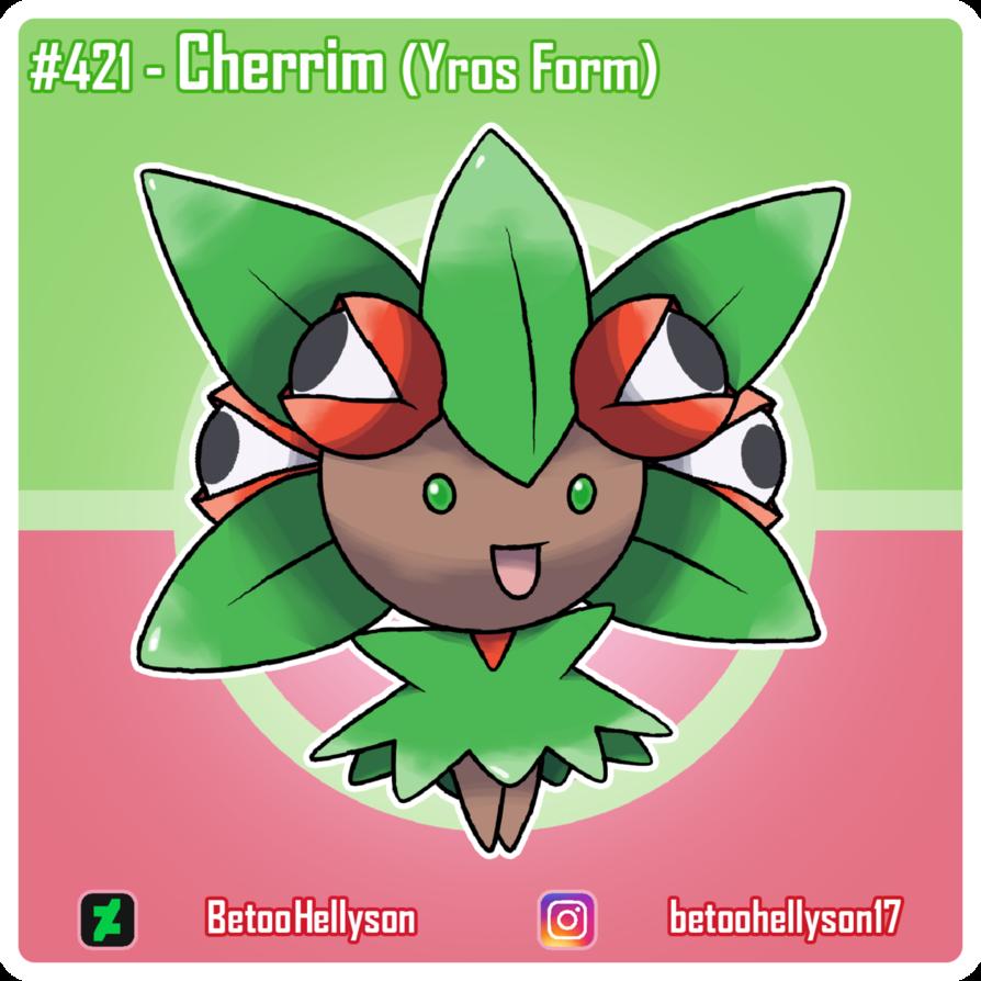 421 – Cherrim (Yros Form) by BetooHellyson on DeviantArt