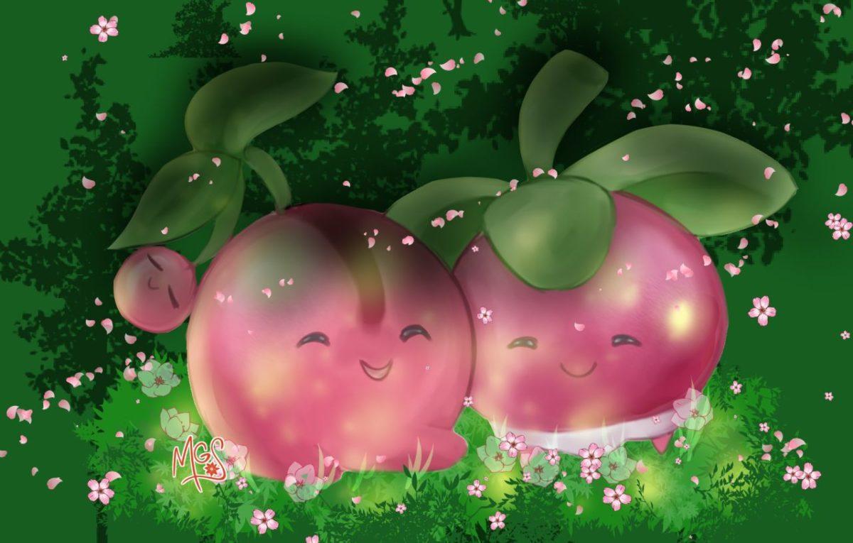 Cherubi – Pokémon | page 2 of 3 – Zerochan Anime Image Board