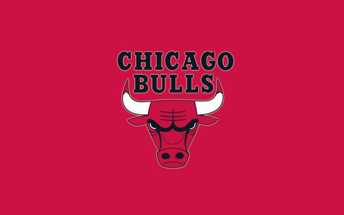 Bulls Logo Red Background Wallpaper | ChicagoBullsPictures.com