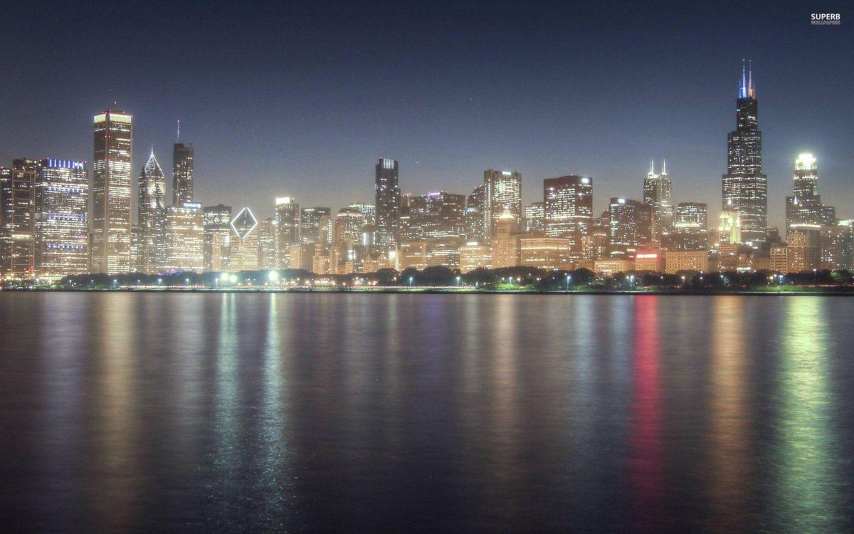 Chicago skyline wallpaper – World wallpapers – #