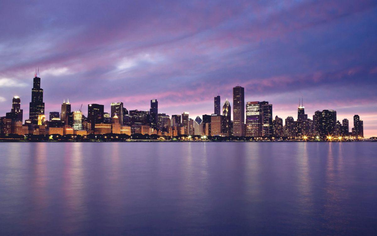 Chicago Sunset Wallpaper Hd Widescreen 11 HD Wallpapers | Eakai.