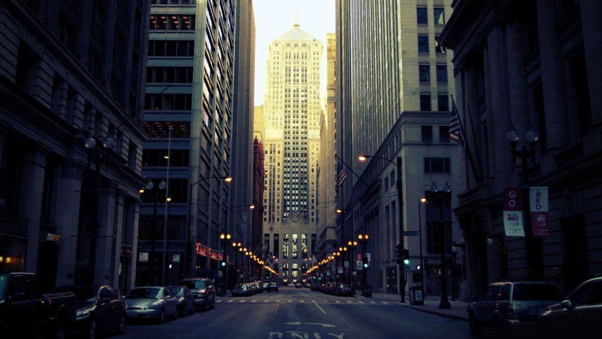 Street in Chicago Wallpaper #