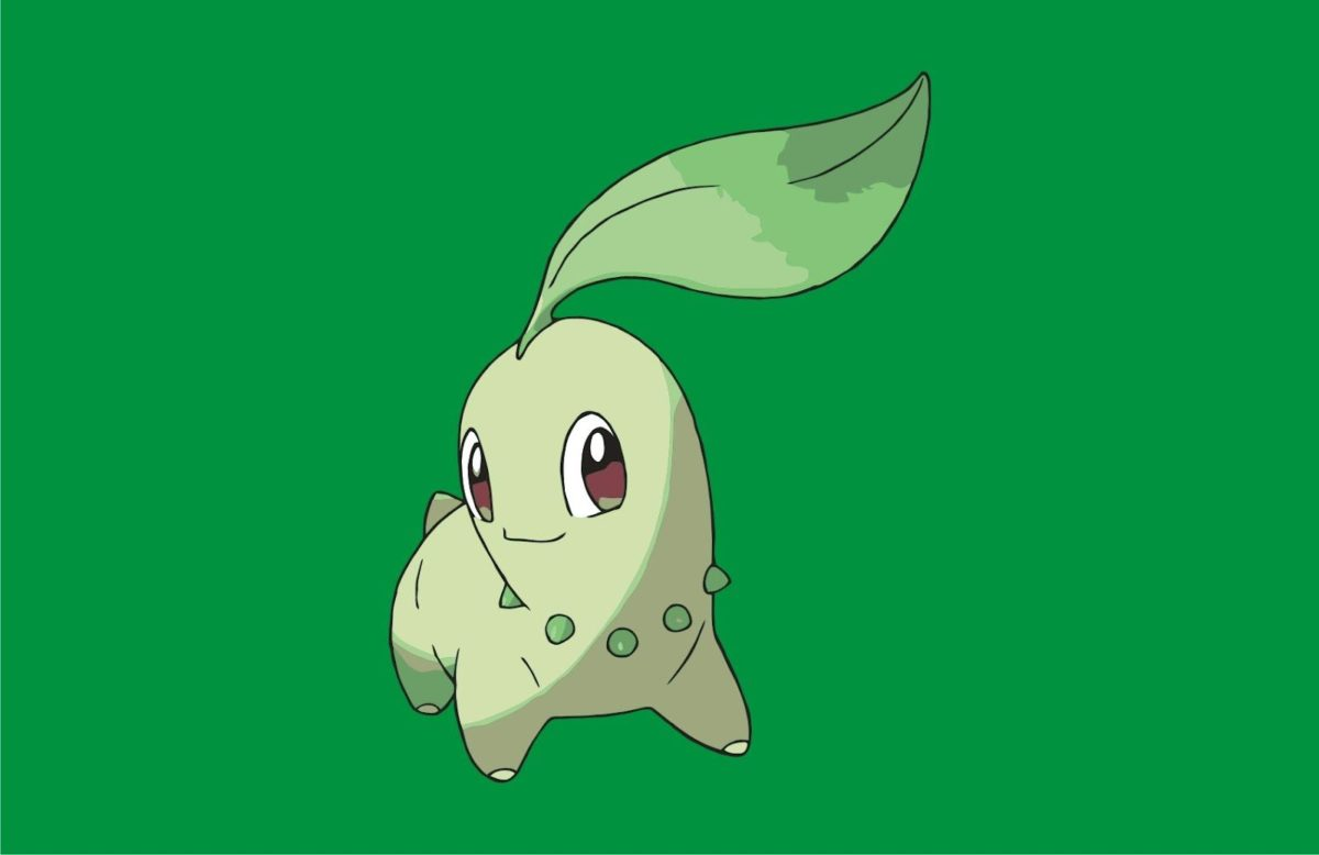 Pokemon Chikorita | Vector Game