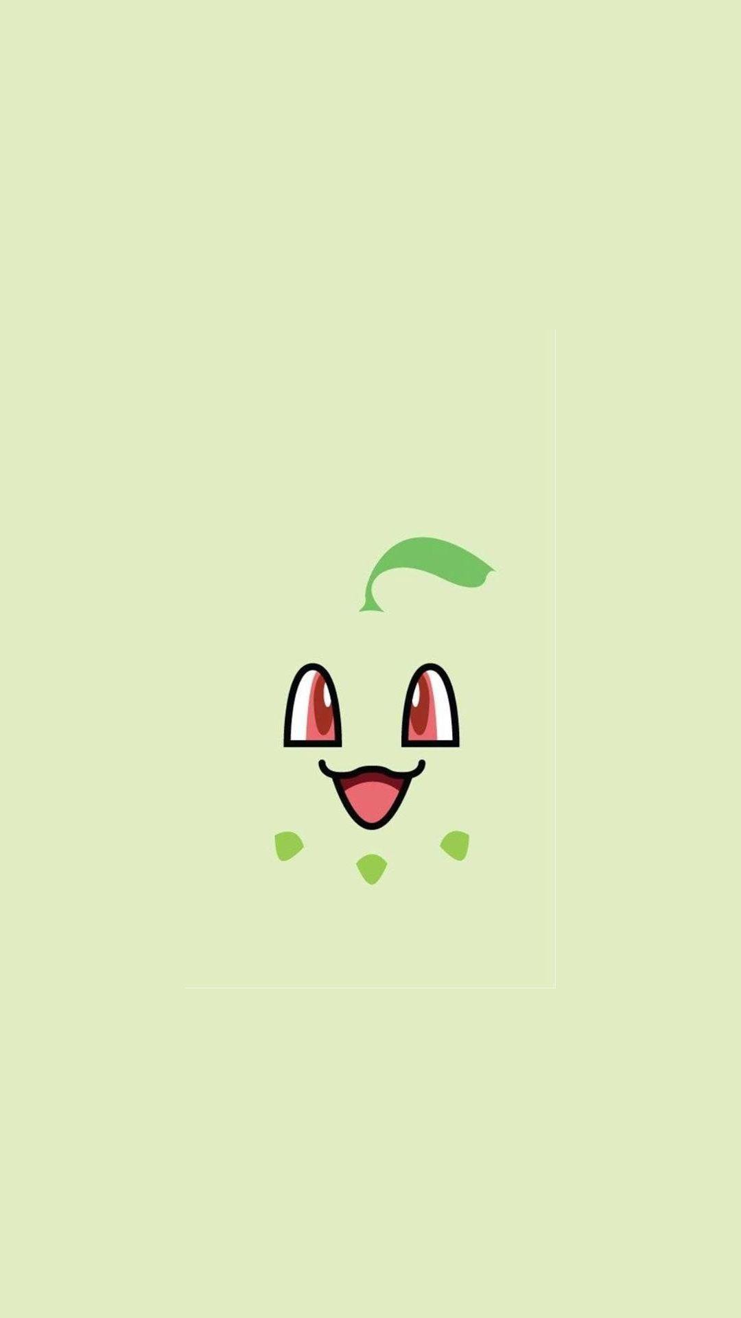 Chikorita Pokemon iPhone 6+ HD Wallpaper HD – Free Download …