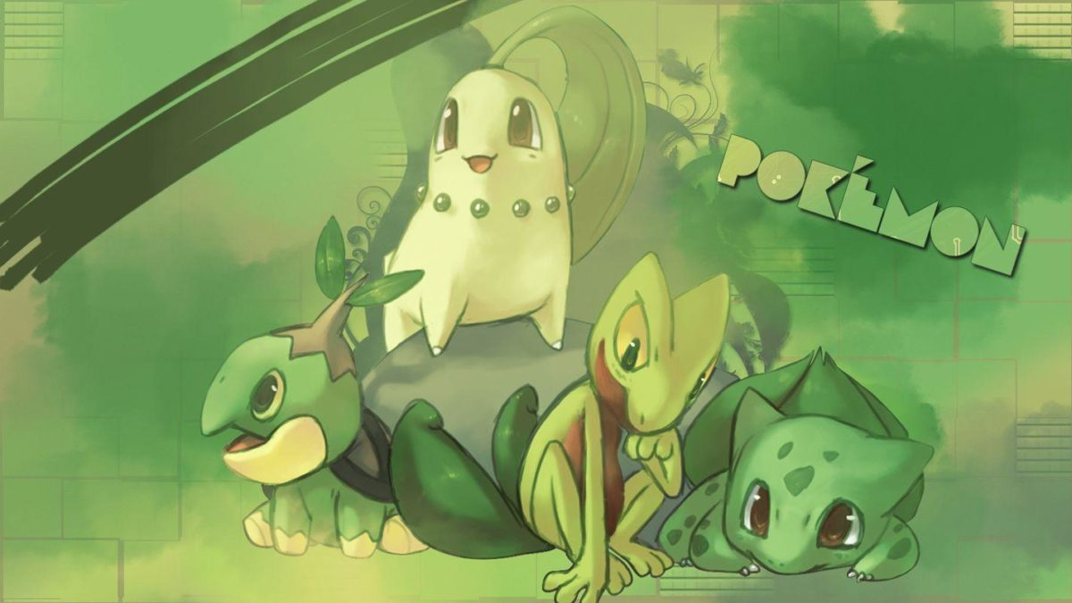 1 Chikorita HD Wallpapers | Background Images – Wallpaper Abyss