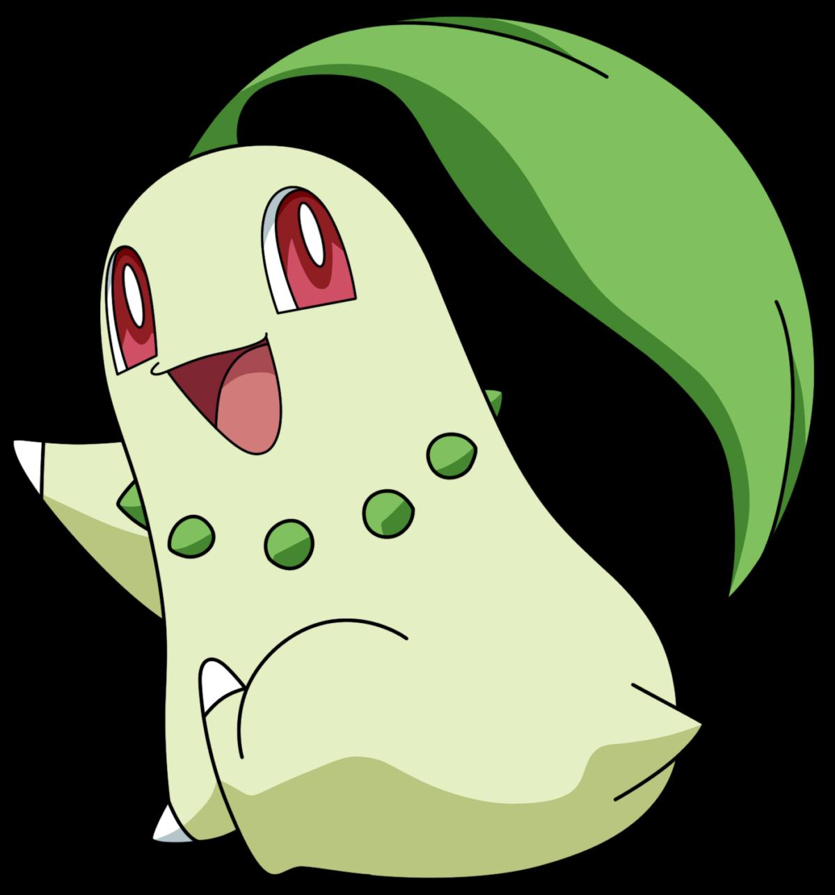 Pokémon NAC Week 6 – Grass – Chikorita by Rachos Nail Love …