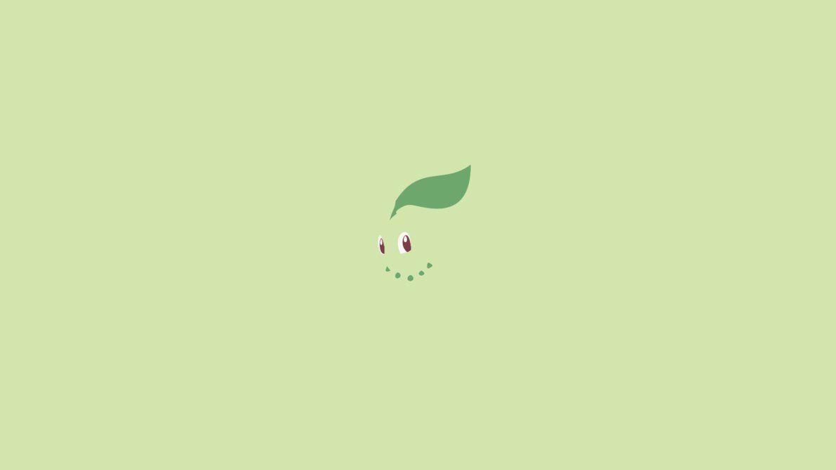 Minimalist Chikorita by Muzikere on DeviantArt