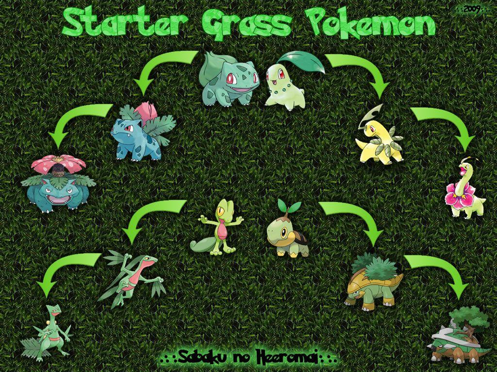Grass Pokemon Wallpaper by SabakuNoHeeromai on DeviantArt