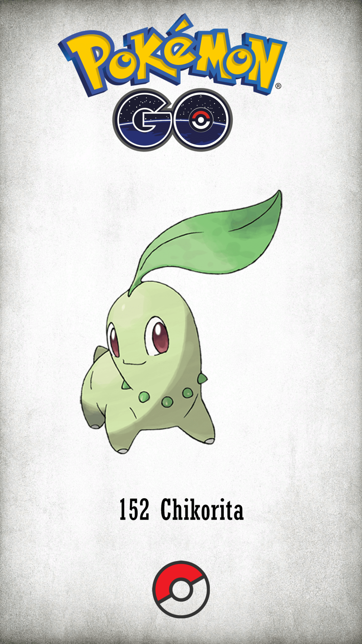 152 Character Chikorita | Wallpaper