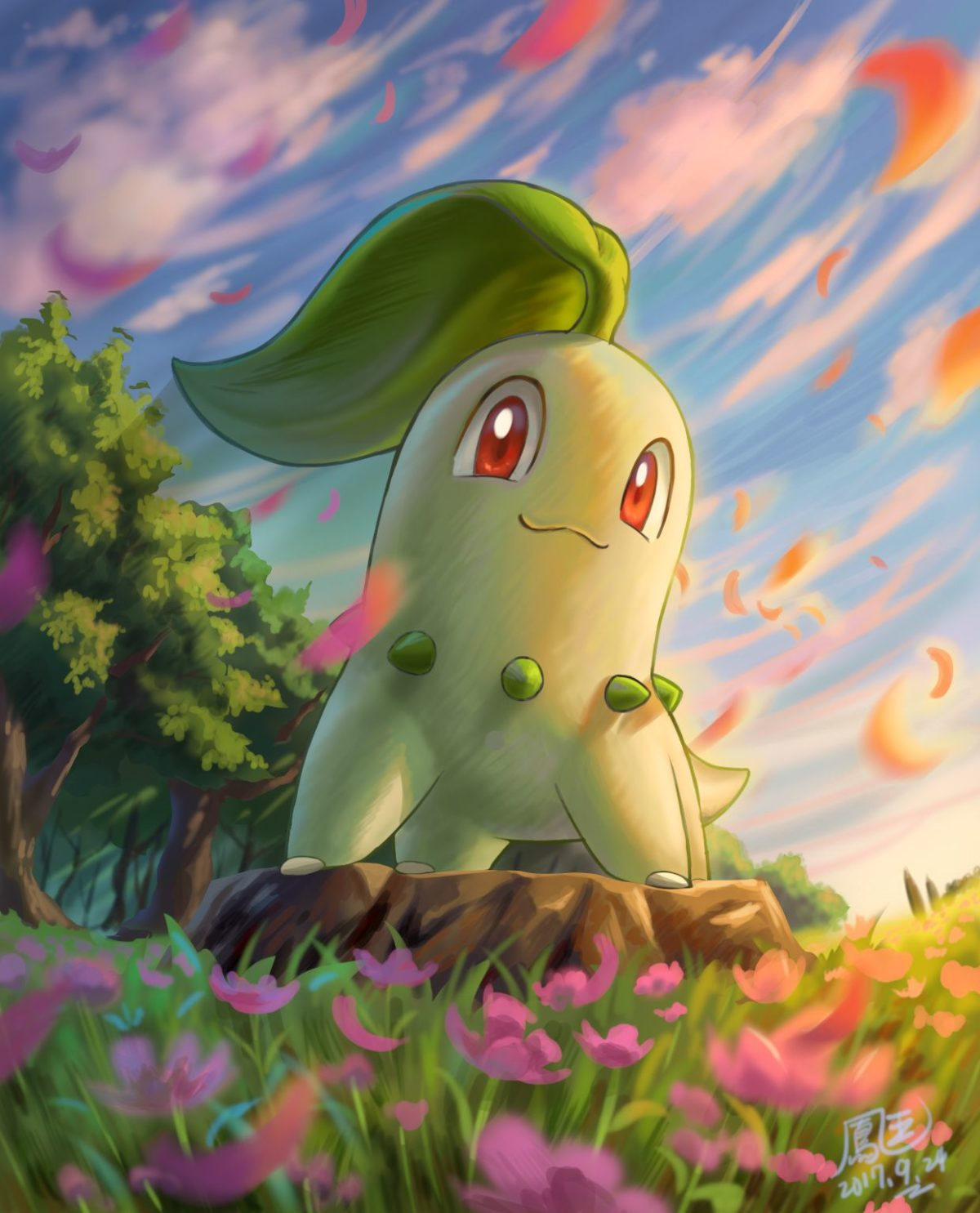 Chikorita – Pokémon – Zerochan Anime Image Board