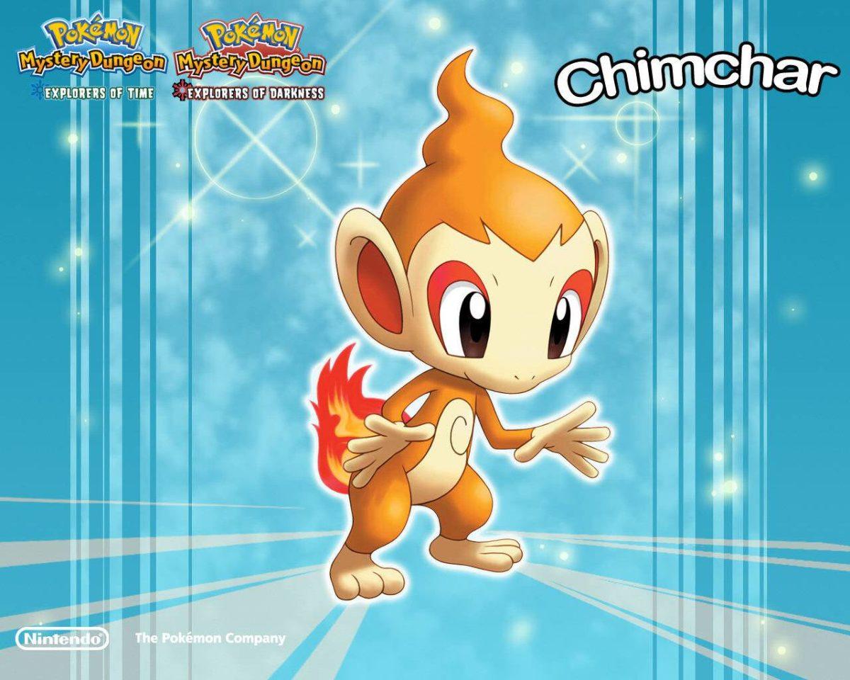 Chimchar Wallpaper – Pokemon Wallpaper