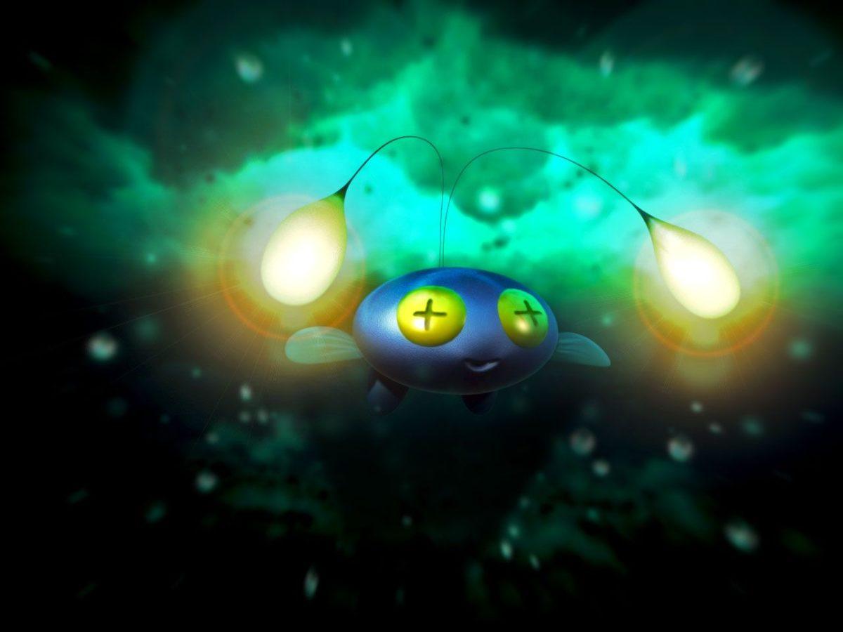 Pokemon Wallpaper – Chinchou |