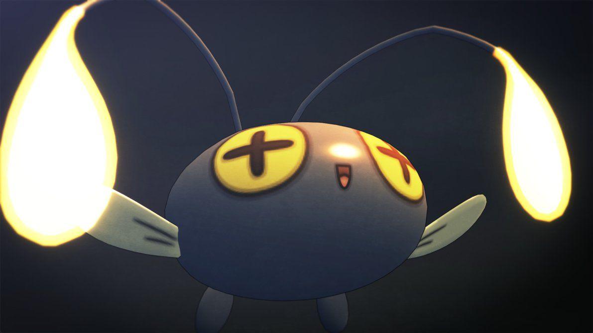 ChinChou (Pokemon 3ds) by GuilTronPrime on DeviantArt
