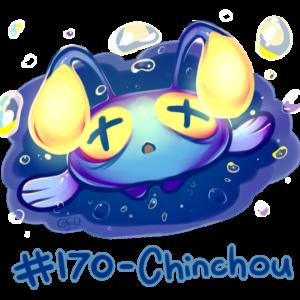 download Pokemon #170 – Chinchou by oddsocket on DeviantArt