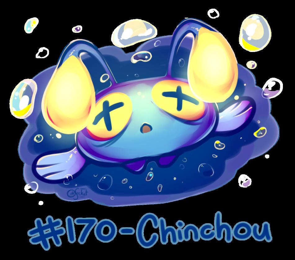 Pokemon #170 – Chinchou by oddsocket on DeviantArt