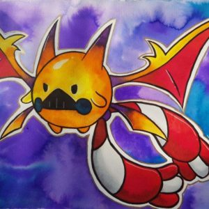 download Traditional] Chingling x Crobat (My Art) | Pokémon Amino