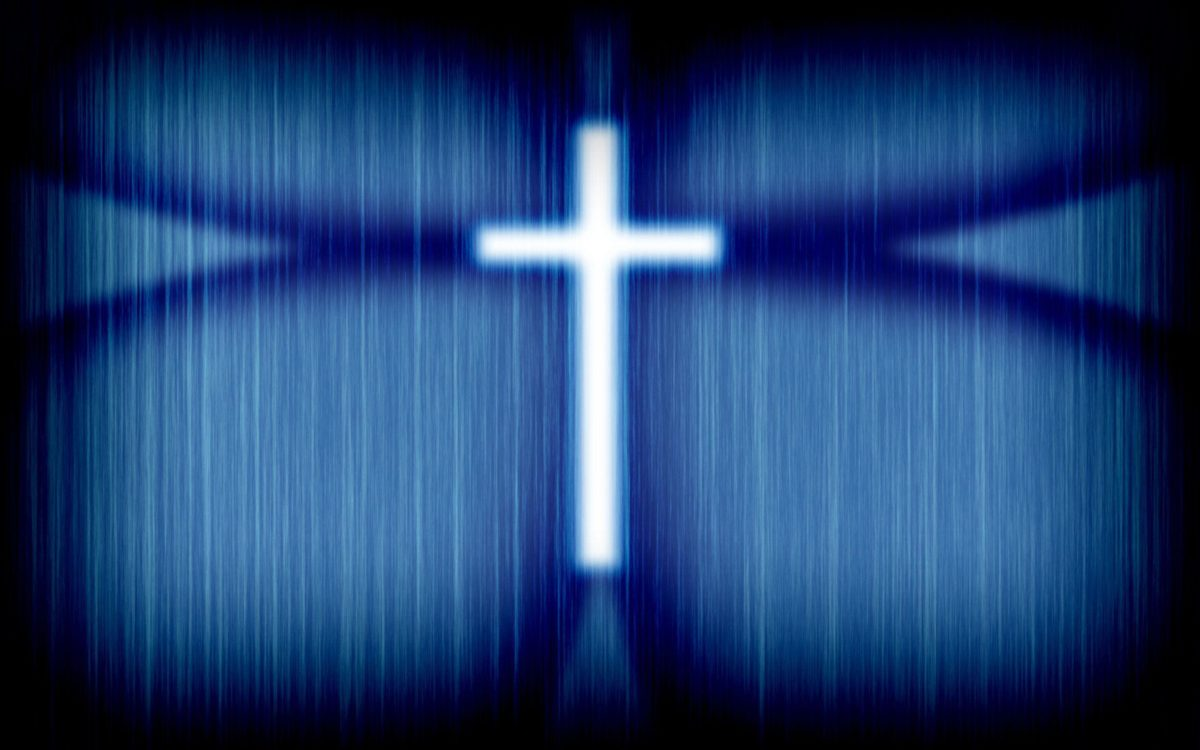 Blue Cross Wallpaper – Christian Wallpapers and Backgrounds