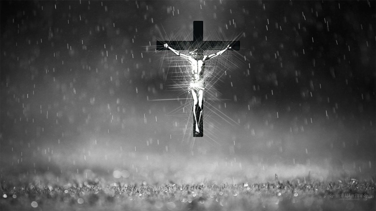 Wallpapers For > Christian Cross Wallpapers Black And White