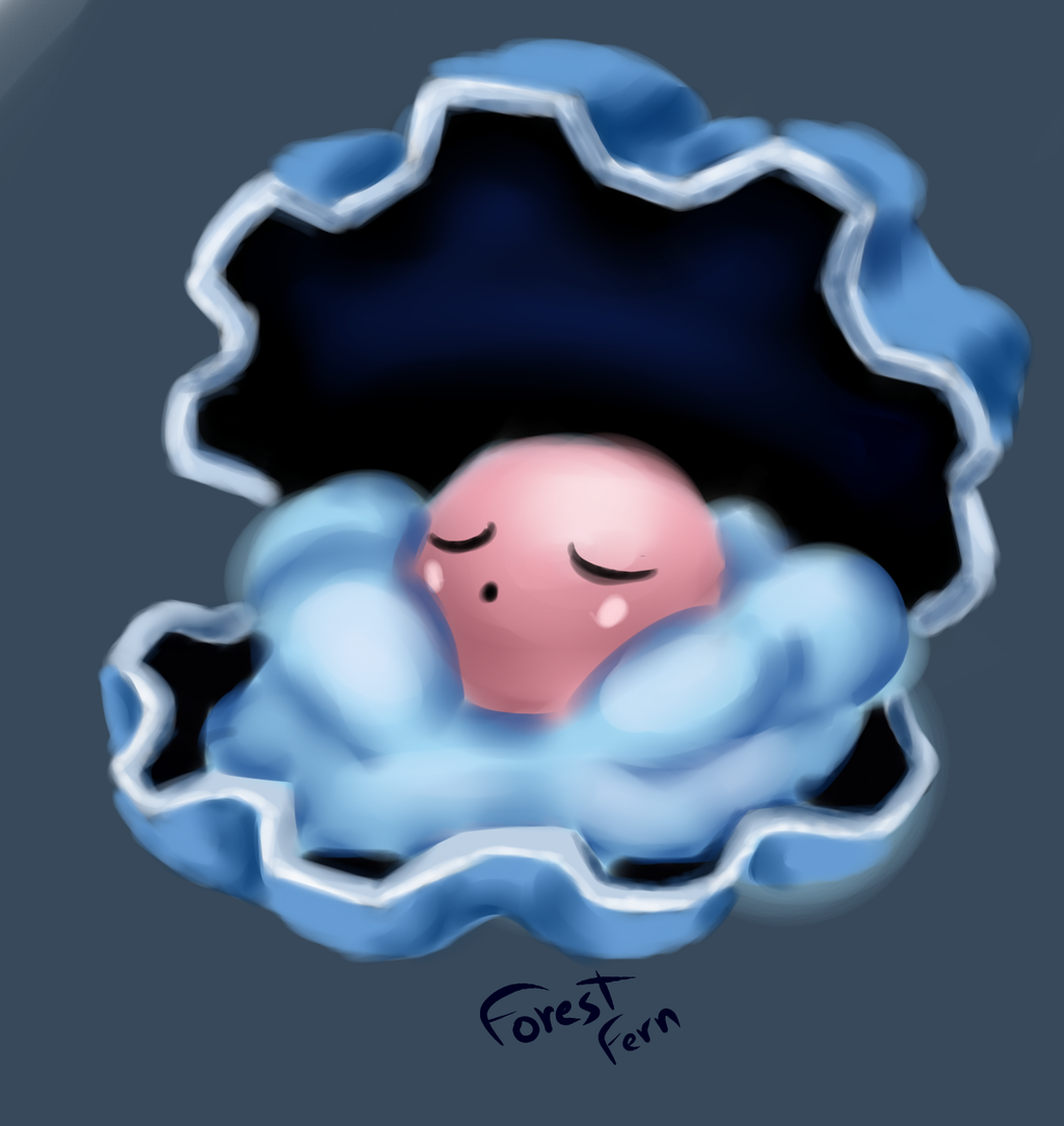 Clamperl by Forest-Fern on DeviantArt