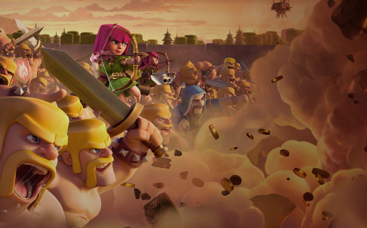 Clash of Clans iOS and Android Mobile Strategy War Game