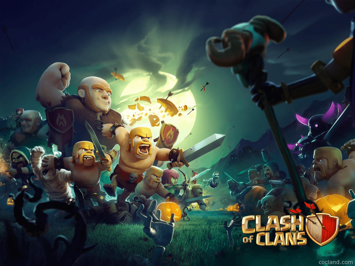 Clash of Clans HD Wallpapers | Clash of Clans Land