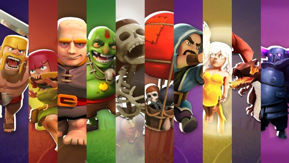 Clash of Clans Art :: CHARACTER PACK Wallpaper HD – DOWNLOAD – YouTube