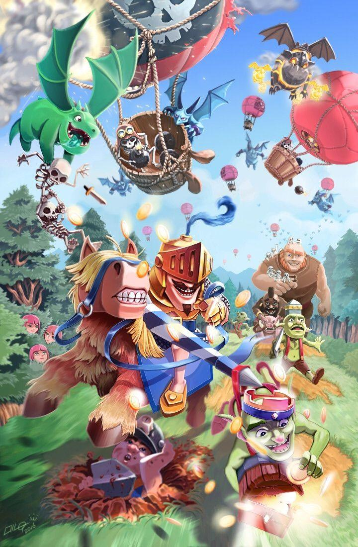 Clash Royale Game Wallpaper iPhone | HD Wallpaper
