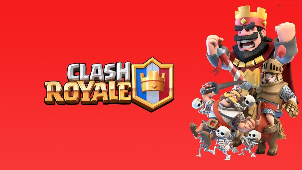 Background Clash Royale HD Wallpaper