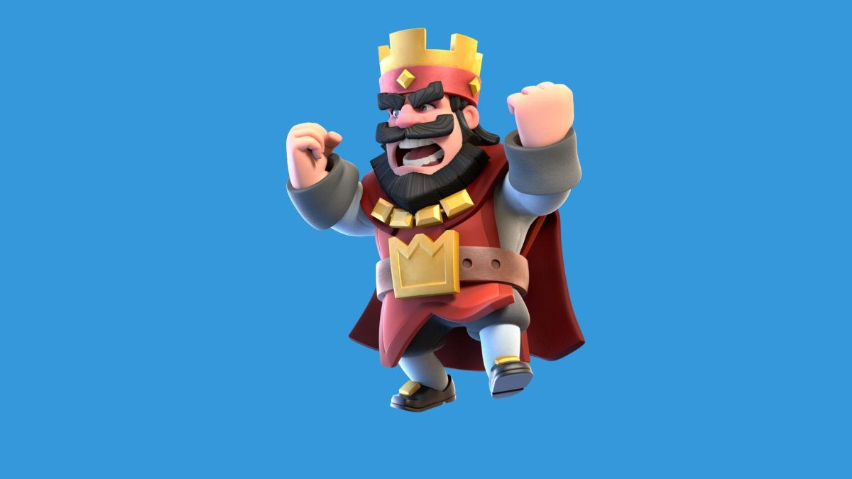 Clash Royale Red King Wallpaper | Games HD Wallpapers